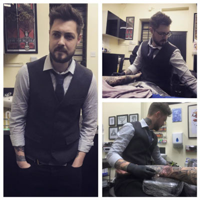 Chris Tattoo Arist